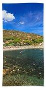 Elba Island - Beach In Seccheto  Beach Towel