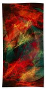 Electric Dreams Of The Ancients Beach Towel