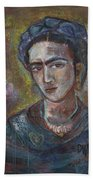 Electric Light Frida Beach Towel