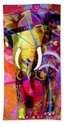 Elephant 007 - Marucii Beach Towel