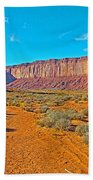 Elephant Butte From Wildcat Trail In Monument Valley Navajo Tribal Park-arizona   Beach Towel