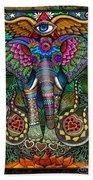 Elephant Dream Beach Towel