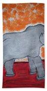 Elephant N Time Out Beach Towel