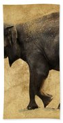 Elephant Walk II Beach Towel