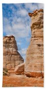 Elephant's Feet Rock Formation Beach Towel