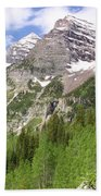 Elk Mountains Beach Towel by Eric Glaser