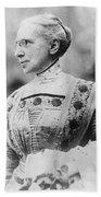 Ella Flagg Young (1845-1918) Beach Towel