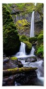 Elowah Falls Beach Towel