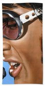 Elvis 24 1970 Beach Towel