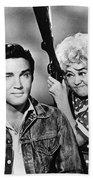 Elvis And Joan Beach Towel