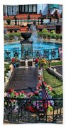Elvis Presley Burial Site Beach Towel