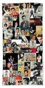 Elvis The King Beach Sheet