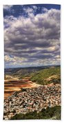 Emek Israel Beach Towel