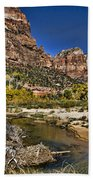 Emeral Pools Trail - Zion Beach Towel
