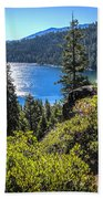 Emerald Bay Lake Tahoe California Beach Towel