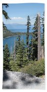 Emerald Bay Vista Beach Towel