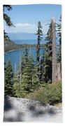 Emerald Bay Vista Beach Towel