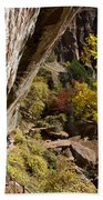 Emerald Falls Zion National Park Beach Towel
