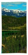Emerald Lake - Yukon Beach Towel