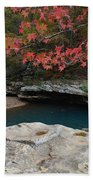 Emerald Pool Beach Towel