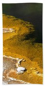 Emerald Pool Yellowstone National Park Beach Towel