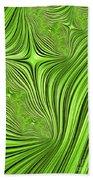 Emerald Scream Beach Towel