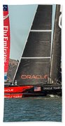 Emirates And Oracle Beach Towel