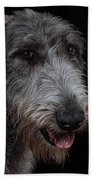 Irish Wolfhound II Beach Towel