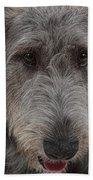 Irish Wolfhound IIi Beach Towel