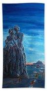 Emotional Fossils Beach Towel