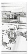 Empire Period Piano 1820 Beach Towel