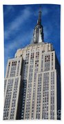 Empire State Building - Nyc Beach Towel