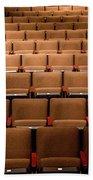 Empty Theater Chairs In Ventura Arts Beach Sheet
