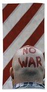 War Protest Beach Towel