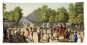 Encampment Of The British Army Beach Sheet