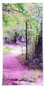 Enchanted Forest Beach Towel