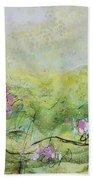 Enchanted Meadow Beach Towel