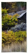 Enchanted Spaces Cabin In The Woods 2 Beach Towel