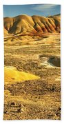 Endless Painted Hills Beach Towel