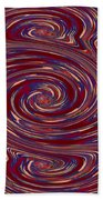 Energy Euphoria Wave Art Suitable For Large Format Prints Digital Graphic Signature   Art  Navinjosh Beach Towel