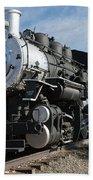 Engine 4455 In The Colorado Railroad Museum Beach Towel