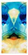 Enlightenment - Abstract Art By Sharon Cummings Beach Towel