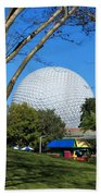 Epcot Globe Walt Disney World Beach Towel
