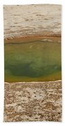Ephedra Spring In West Thumb Geyser Basin Beach Towel