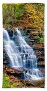 Erie Falls Beach Towel