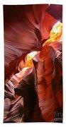 Erosions At Antelope Canyon Beach Towel