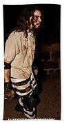 Esp Escaped Prisoner Zombie Beach Towel