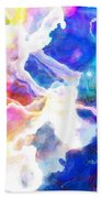 Essence - Abstract Art Beach Towel by Jaison Cianelli