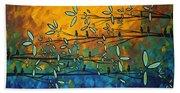 Essence Of Life By Madart Beach Towel