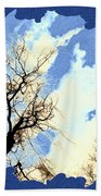 Essence Of Winter Beach Towel